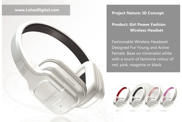 Girl Power Headset